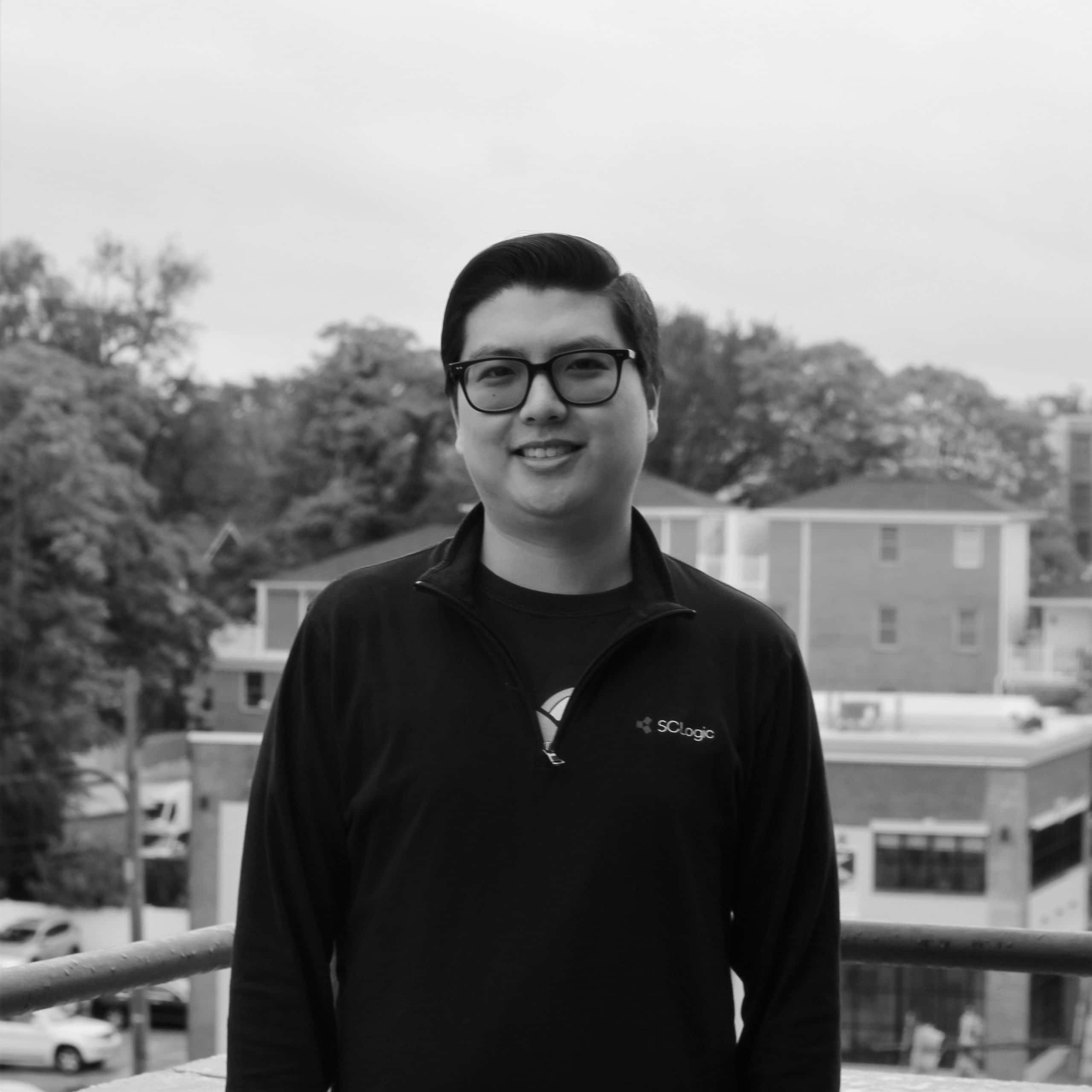 Headshot of David Ahn, Technical Services Analyst for SCLogic.