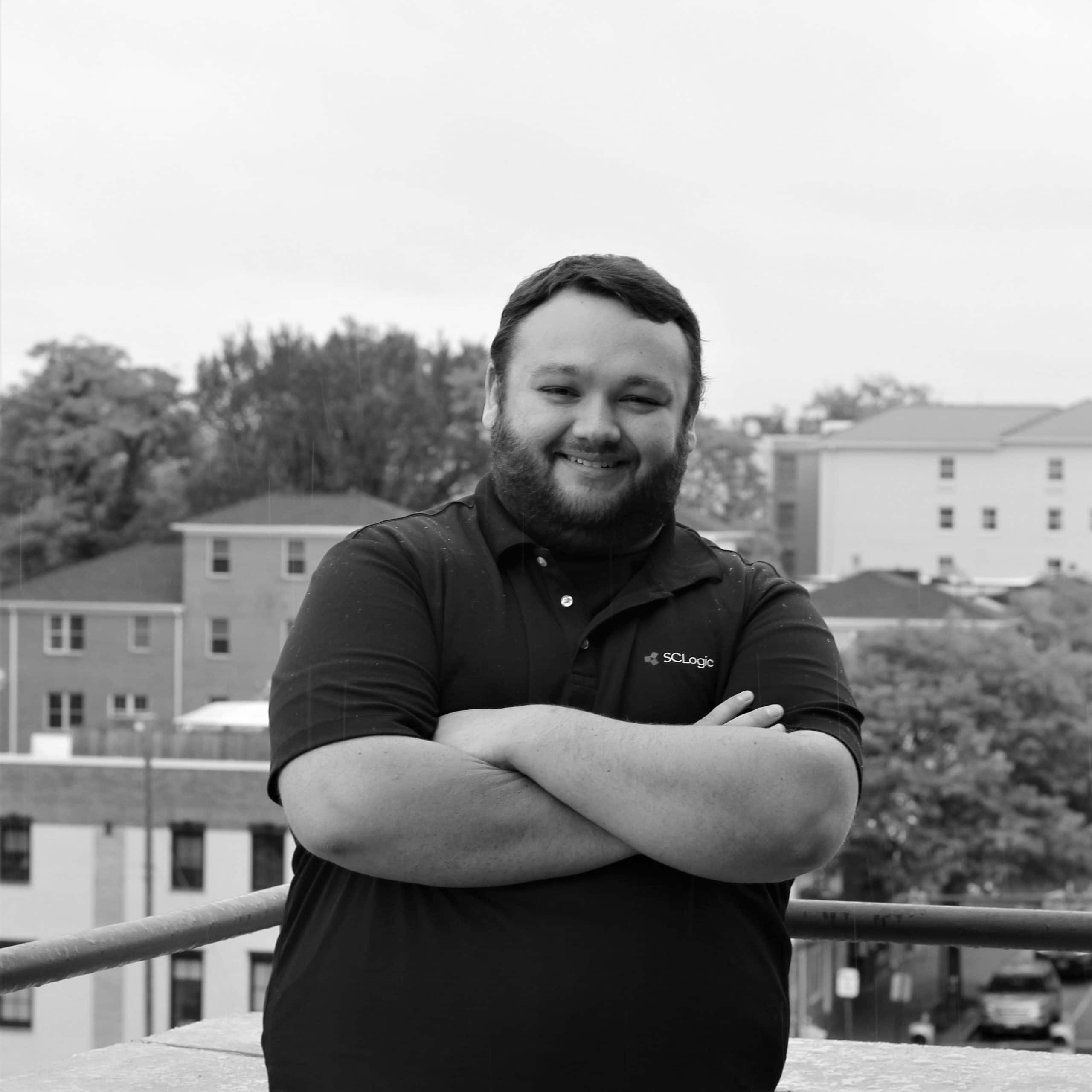 Headshot of Tyler Blankenship, Technical Services Analyst for SCLogic.